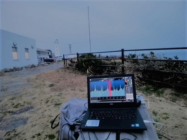201703 犬吠埼灯台前でDX(1)