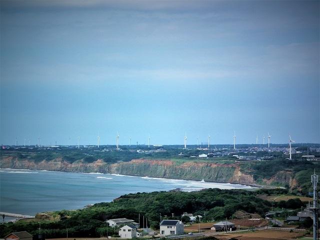 2017 地球が丸く見える丘展望台からの風景(2)