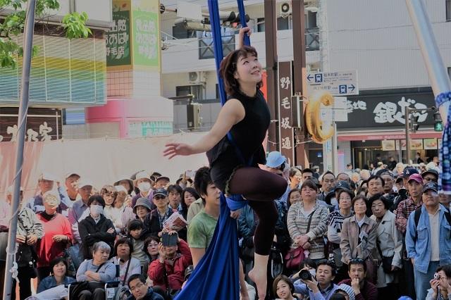 2017春の野毛大道芸(9)