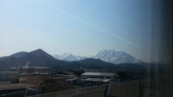 北陸新幹線車窓