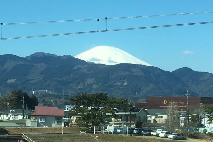 004-車窓からの富士山