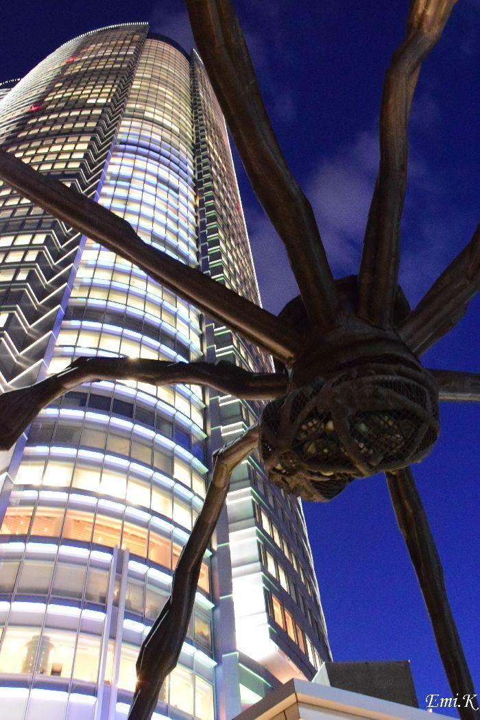043-Emi-蜘蛛のオブジェ-森タワー