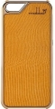 iPhone 5 5s Case Leder Die kleine Fee gelb gold 1