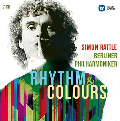 Simon Rattle Rhythm Colours【最安値7CD】サイモン・ラトルベルリン・フィル リズムカラーズ