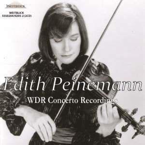 Edith Peinemann WDR Concerto Recordings【最安値2CD】エディト・パイネマン ケルンWDR交響楽団コンサート協奏曲名演集
