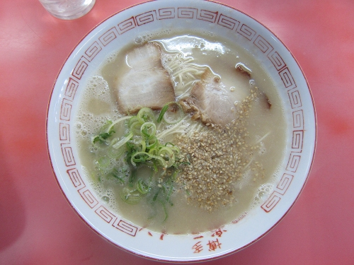 一楽ラーメン粕屋店20170308 (1)