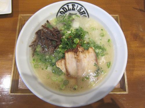 麺屋よしやすKagoshima soul village 店20170313 (1)