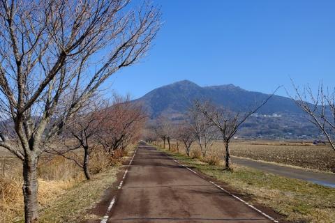 04りんりんロードと筑波山