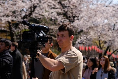 25上野の桜