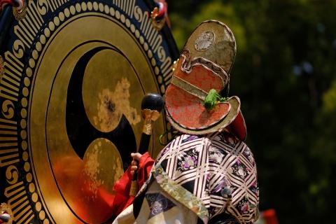 06明治神宮雅楽と舞の奉納鉦