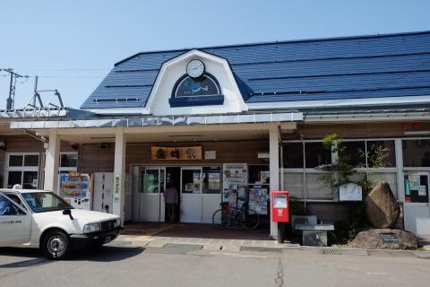 03しなの鉄道黒姫駅