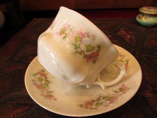 リモージュ ピンク花 008