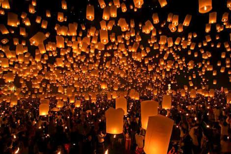 台湾ランタン祭り