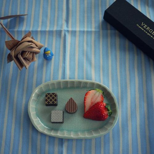 290224 おやつ チョコと苺