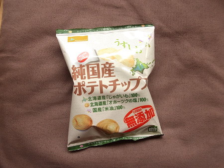 純国産ポテトチップス うすしお 化学調味料無添加