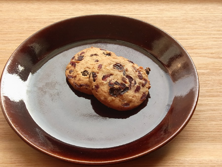 いちじくとクルミのクッキー ステラおばさんのクッキー×MACHI cafe