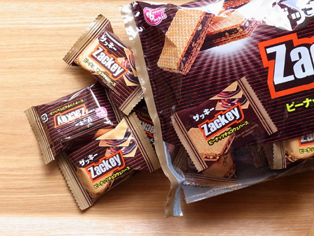 Zackey/ザッキー ピーナッツチョコウエハース 大袋