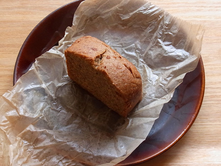 古代小麦のバナナケーキ &BREAD