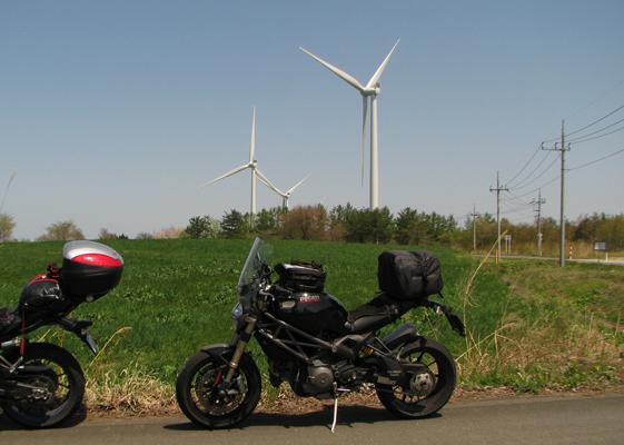 4日目 風車群