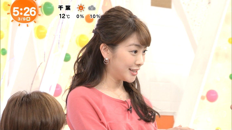 三上真奈 めざましテレビ (2017年03月09日放送 10枚) | きゃぷろが