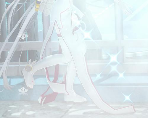 氷の子足1