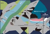 三省堂書店 東京ソラマチ店内マップ