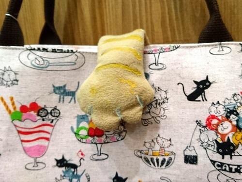 猫手バッグPKアップ