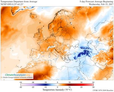 C4u50mPWcAAmCKF次の5日間の温度異常