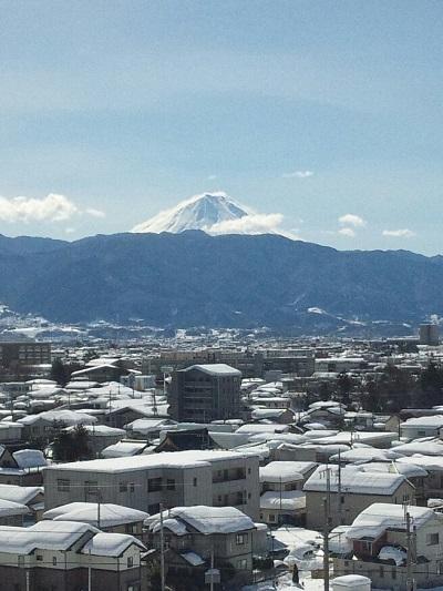 富士山平成26年2月