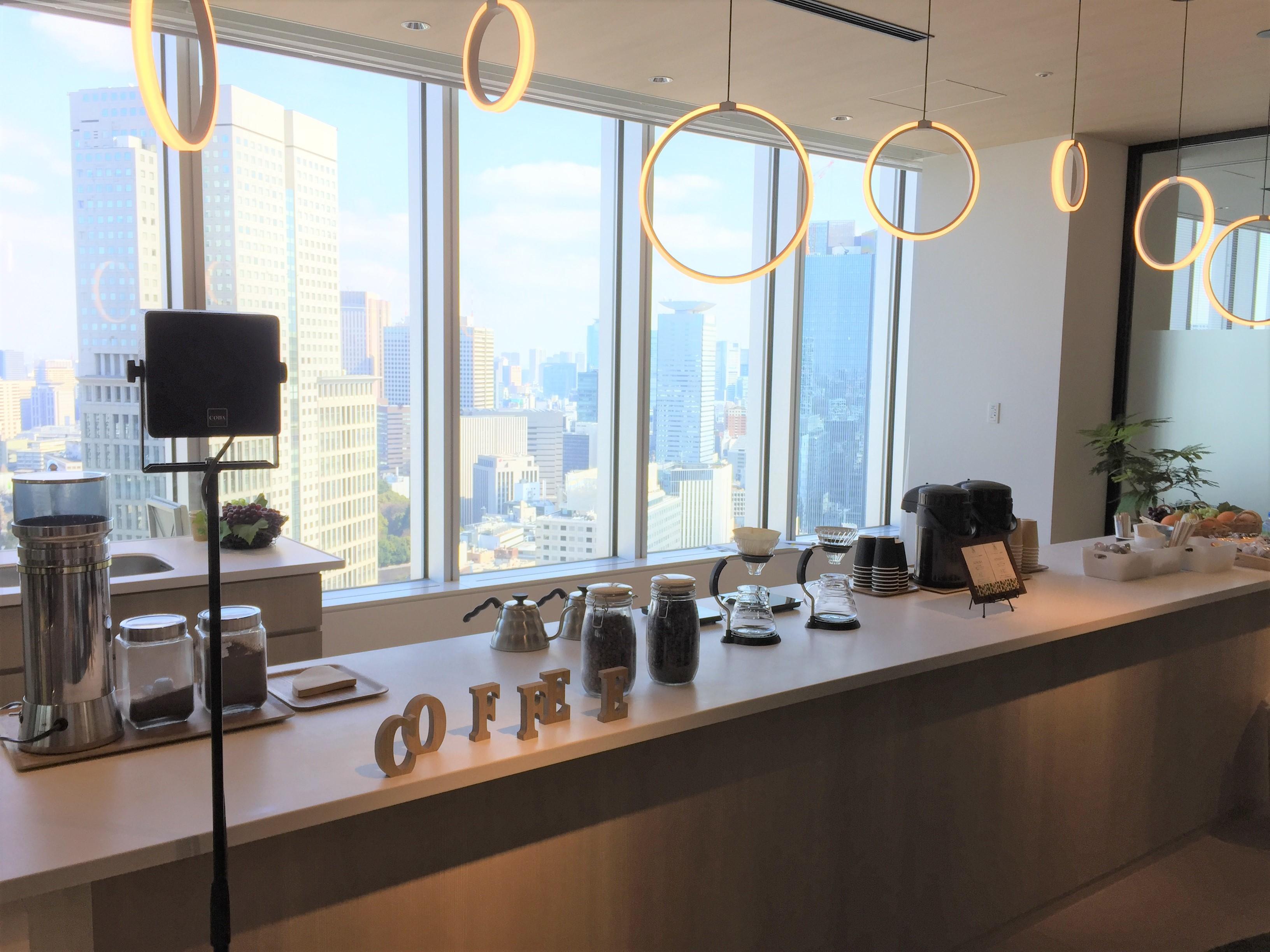 東京都内 企業様オフィス アヴァンテコーヒーケータリング