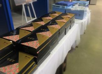 山梨 河口湖ステラシアター 展示会ケータリング