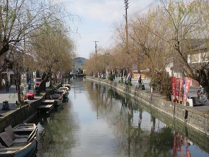 柳川川下りのお堀