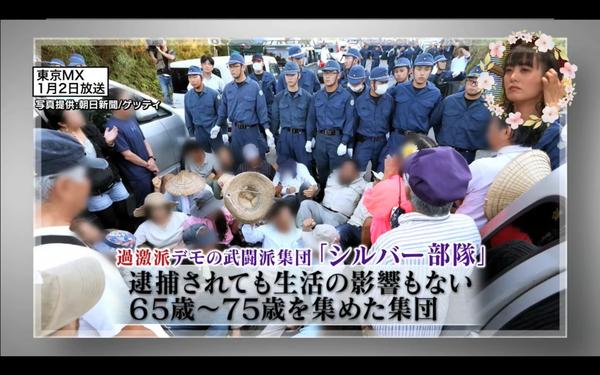 特に辛淑玉や「のりこえねっと」や「沖縄タイムス」がマヌケだったのは、「シルバー部隊」についてだった。
