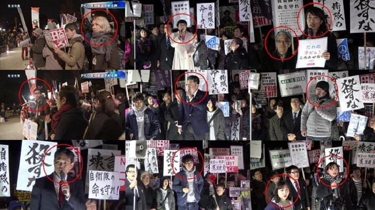 2月17日の国会前デモに集まった人達を見てみよう\(^o^)/www 元SEALDsや中核派や共産党や在日朝鮮人や外国人がいっぱいだよwww どう見ても日本国民の敵ばかりじゃんwww #報道特集 #TBS