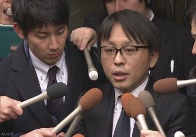 一方、籠池理事長は15日、会見を見送ったものの東京に向かい、都内にあるノンフィクション作家、菅野完さんの事務所を訪ねました。