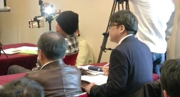 「のりこえねっと辛淑玉らの言論弾圧を許さない沖縄県民記者会見」に、しばき隊の野間と安田浩一が乱入。