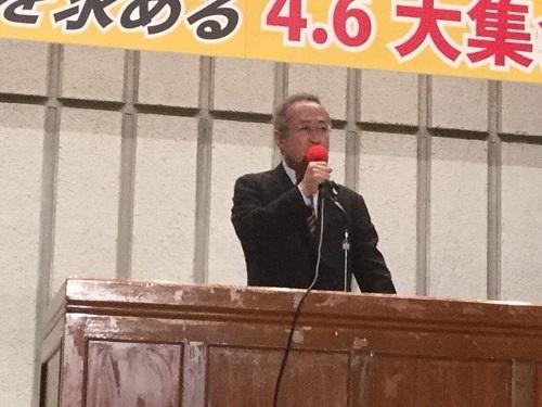 有田芳生「ラインもできない、カレーも作れない共謀罪!」