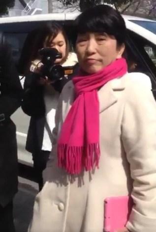 森友学園視察の福島みずほ、国民から朝鮮学校問題を指摘されフリーズ!服部良一元議員が割って入る