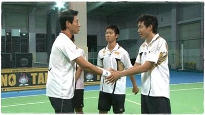 松岡修造さん主催のテニス合宿「修造キャンプ」に参加しており、将来を有望視されていました。