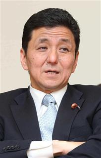 NHKが日の丸を中国国旗の下に 岸信夫外務副大臣「あってはならない」岸信夫外務副大臣(野村成次撮影)(写真:産経新聞)