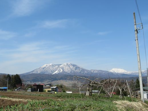 シンボル・・・・霊仙寺山といいづなリゾート好きー場