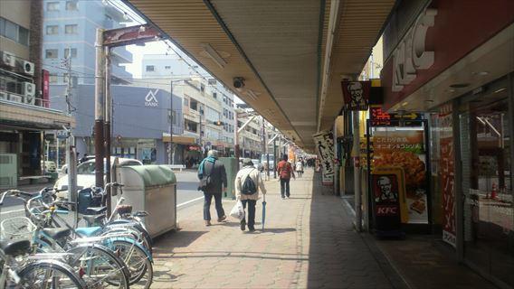 サンロード五香商店街