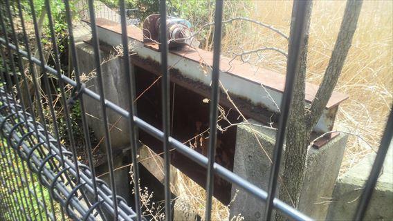 谷津干潟のゲート