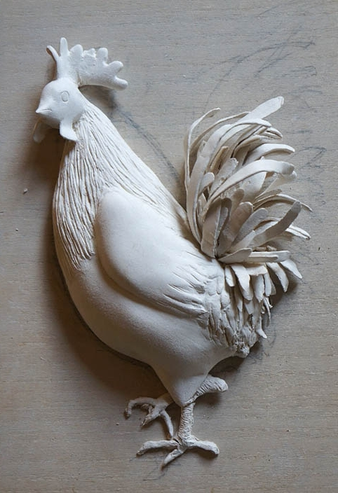 20170216 Cock LaDoll #105 for the year plate 2017 17cm blog DSC05239