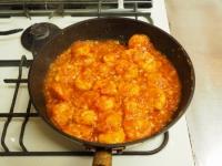 炒り卵エビチリ35