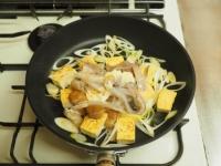 ゲソと豆腐のマヨしょう油炒め13