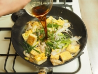 ゲソと豆腐のマヨしょう油炒め15