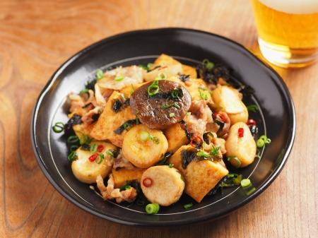 エリンギと豆腐のオイスターソー17