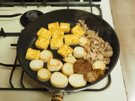 エリンギと豆腐のオイスターソー10
