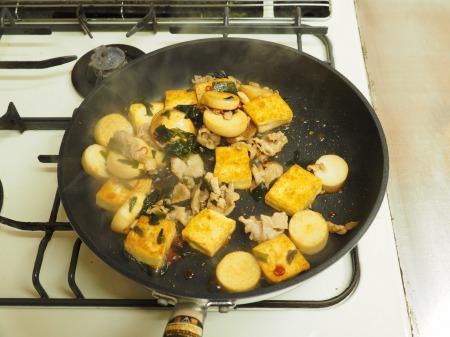 エリンギと豆腐のオイスターソー12